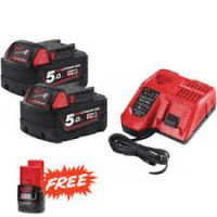 KIT BATTERIE MILWAUKEE M18-NRG